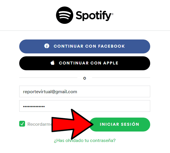 Iniciar Sesion Spotify Online
