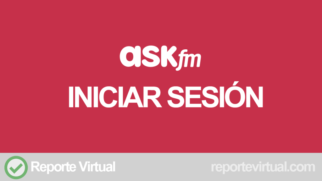 Ask iniciar sesion