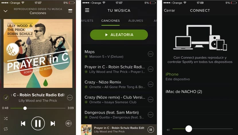 Descargar Spotify en iPhone