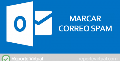 Outlook marcar correo SPAM