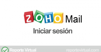 Zoho Mail iniciar sesion